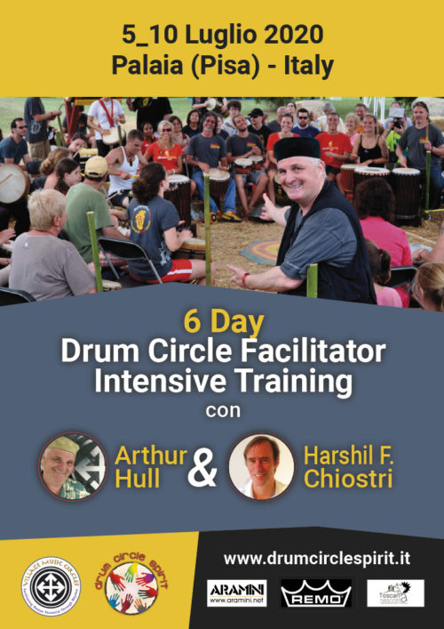 Arthur Hull 6 Day Training Italy Flyer